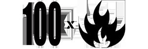 Logo de 100fuegosradio